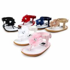 ROMIRUS Summer Baby Girl Sandals Shoes Flower Skidproof For  Kids Toddles