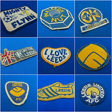 1970s Leeds United Sew-on Patches Cloth Badge