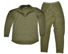 BRITISH ARMY THERMAL SET - NORGI TOP AND LONG JOHN'S - ALL SIZES - GENUINE ISSUE