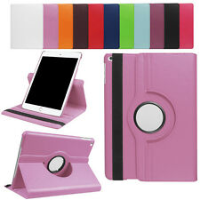 Premium Leather 360°Rotating Smart Stand Folio Case Cover For New iPad 9.7''2017