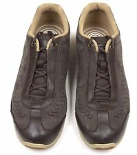 Orthaheel Dr Weil Balance Mocha Leather Sneakers w/ Arch Support size 8**