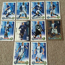 BIRMINGHAM CITY SIGNED SHOOT OUT/MATCH ATTAX FOOTBALL CARDS