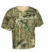 Men Mossy Oak Camouflage Camo Hunting T-Shirt Break-Up Infinity Short Sleeve Tee