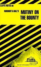 Mutiny on the Bounty by Cliffs Notes Staff (1991, Paperback)