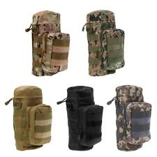 Outdoor Tactical Military Molle System Water Bottle Bag Kettle Pouch