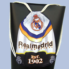 for real madrid barcelona soccer Gym Sack Drawstring Cinch backpack trainer bag