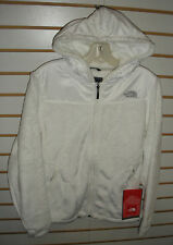 THE NORTH FACE WOMENS OSO HOODIE FLEECE JACKET -#ARHB- TNF WHITE-  M, L