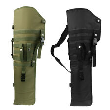 Tactical Military Army Holster Pouch Hunting Molle Shoulder Bag & Hard Board New