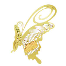 AF Bookmark Bookmark Metal Butterfly Butterfly Book Reading Help Gift Gold