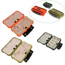 Strong Plastic Fishing Lure Hook Case with 16/28 Individual Compartments