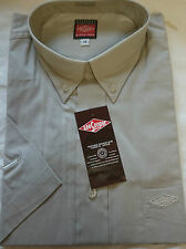 Mens Grey Shirt - Short Sleeved - Lee Cooper