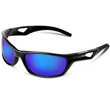 Sports Polarized Sunglasses 100%UV Protection for Men or Women Cycling Baseball