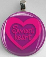 Handmade Interchangeable Magnetic Hearts and Love Sweetheart #3 Pendant Necklace