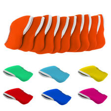10Pcs Golf Iron Headcover Putter Head Protector Case Fit Callaway Mizuno All