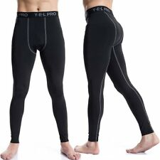 Men's Compression Athletic Pants Fitness Training Running Sports Tights Trousers