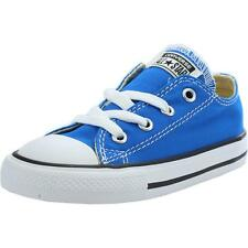 Converse Chuck Taylor All Star Infant Soar Blue Textile Trainers Shoes
