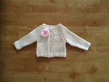 Hand Knitted Baby Cardigan BNWT 0-3 /3-6/ 6-9/ 9-12 Months