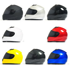 New DOT Durable Motorcycle Street Full Face ABS Motorbike Helmet with Visor M99G