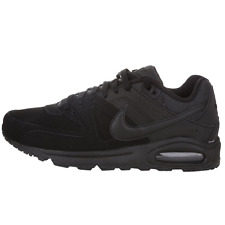 NEW NIKE Air Max Command Leather All Black Lifestyle Sneaker Shoes 749760 003