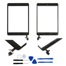 Touch Screen Glass Lens Replacement+digitizer+IC Chip+Home  For iPad mini 1 2