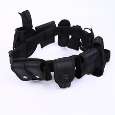 Outdoor Nylon Utility Tactical Police Office Security Guard Equipment Duty Belt