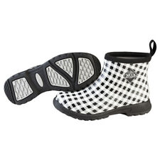 Muck Boots Breezy Ankle Insulated Rain Boot for Ladies Women's - Black Gingham