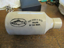 Vintage The Fish & Ring brand is the best Ginger beer bottle,