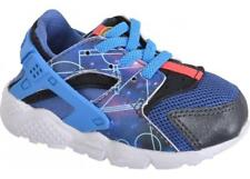 Toddler Kids NIKE HUARACHE RUN PRINT (TD) Blue Trainers 704945 004 RPR