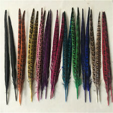 """10-100pcs beautiful natural """"male"""" pheasant tail feathers 12-14 inches/30-35 cm"""