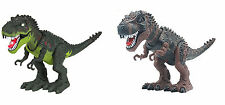 Kids Toy Walking Dinosaur T-Rex Action Figure Moving Lights Sounds Little Boys