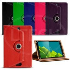 Fits Android 10 inch Tablet - 360 Rotating Leather Style Universal Tablet Case