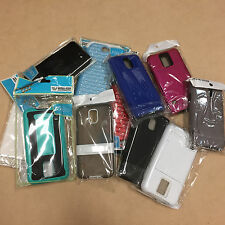 Lot of 10, 25, 50 Bulk Wholesale Mixed Cell Phone Cases Various Phone Model