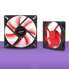 12V 4Pin DC Computer PC Case Cooler CPU Cooling Fan Red