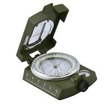 K4580 Military Lensatic/Prismatic Sighting Compass With Pouch New / luminous