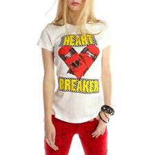 NWT ABBEY DAWN BY AVRIL LAVIGNE Heartbreaker T-SHIRT S, M, L