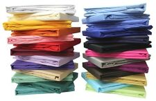 LUXURY 1000TC 100% EGYPTIAN COTTON CAL-KING SOLID SHEET SET 4PC CHOOSE YOUR COLO