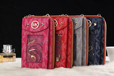 For iPhone 4/ 4s/ 3GS Michael Kors Purse/Wallet cover case with retail packaging