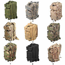 30L Sport Bags Outdoor Military Rucksacks Tactical Molle Backpack Camping Hiking