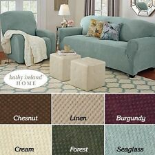 Pique Stretch Furniture Slipcover Sofa, Loveseat, Chair, or Recliner Cover NEW