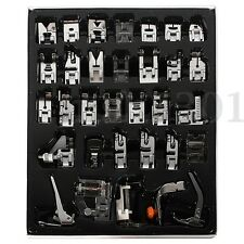 15/32/pcs Sewing Machine Presser Foot Feet for Brother Janome Singer Domestic U