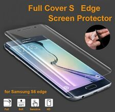 3D Curved TPU Full Screen Protector Guard For Samsung Galaxy S7 Edge S6 edge+