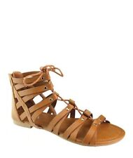 Women's Shoes Sandal Tie up Pattern Flat Gladiators Summer Casual Footware Ankle