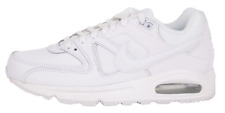 NEW NIKE Air Max Command Leather All White Lifestyle Sneaker Shoes 749760 102