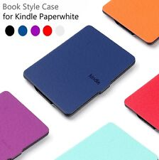 New Amazon Kindle Paperwhite 1 2 3 Ultra Slim Magnetic PU Leather Smart Case