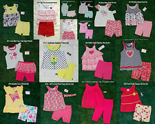 Swiggles Old Navy Baby Toddler Girls' 2 Piece Outfit Top & Shorts/Pants 12M-4T