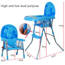 Baby Highchair Infant High Feeding Seat Toddler Table Chair Height Adjustable