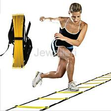 13-Rung Agility Ladder Speed Soccer Sport Football Fitness Feet Train Training