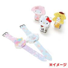 Sanrio Face type digital silicon watch Hello Kitty My melody Little Twin Stars