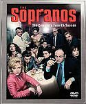 The Sopranos - The Complete First, Second, Third and Fourth Seasons (DVD, 2003,…