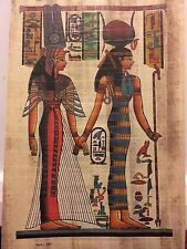 king Egyptian Papyrus Paintings Picture Art Hand Painted Hand  Made in Egypt =15